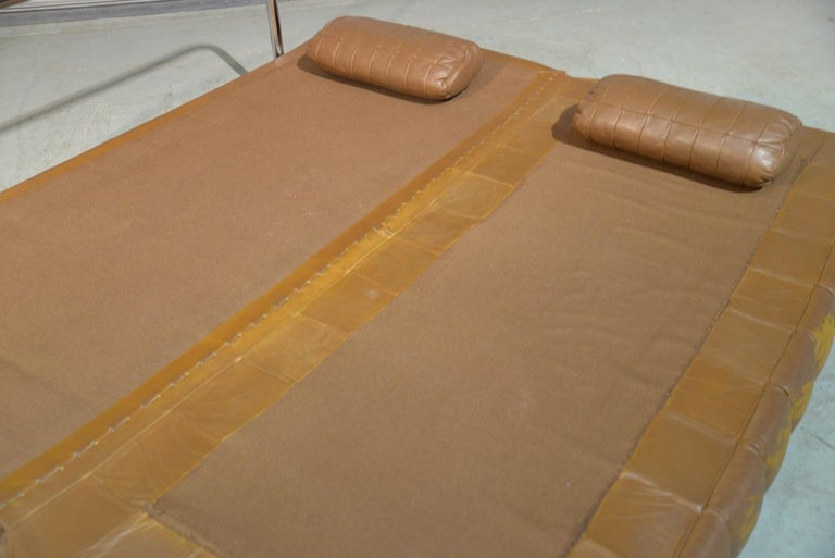 Vintage de Sede DS 85 Leather Sofa, Daybed and Loveseat, Switzerland 1960s For Sale 8