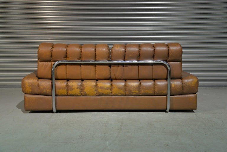 Vintage de Sede DS 85 Leather Sofa, Daybed and Loveseat, Switzerland 1960s For Sale 1
