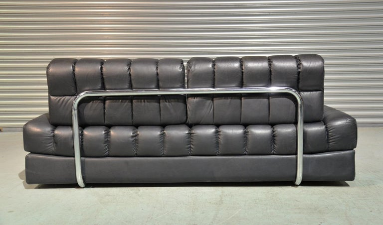 Leather Vintage De Sede DS 85 Sofa, Daybed and Loveseat, Switzerland 1960s For Sale