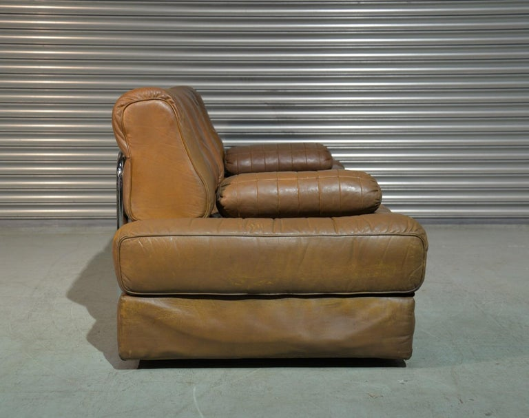 Vintage de Sede DS 85 Leather Sofa, Daybed and Loveseat, Switzerland 1960s For Sale 2