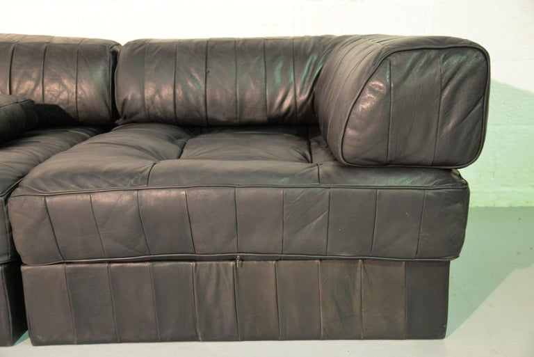 Vintage De Sede Ds 88 Patchwork Leather Sofa and Daybed, Switzerland 1960s For Sale 3