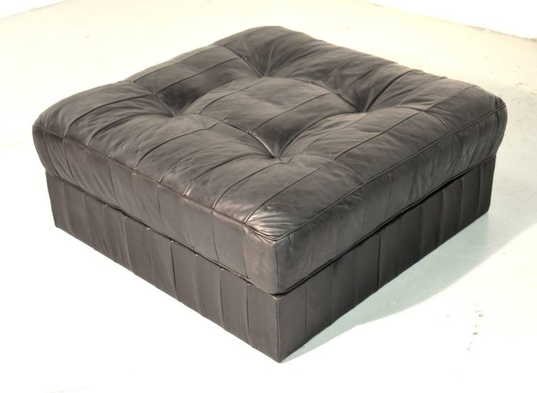 Vintage De Sede Ds 88 Patchwork Leather Sofa and Daybed, Switzerland 1960s For Sale 8