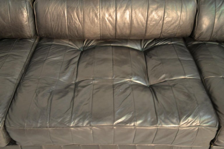 Vintage De Sede Ds 88 Patchwork Leather Sofa and Daybed, Switzerland 1960s For Sale 2