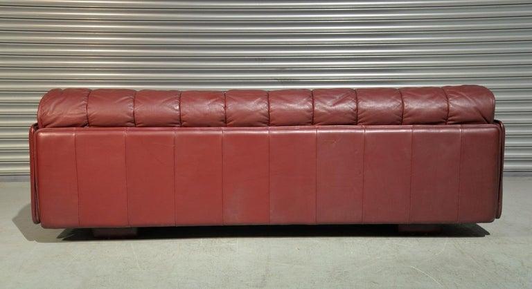 Vintage De Sede Patchwork Leather Sofa / Daybed, Switzerland 1970`s 1