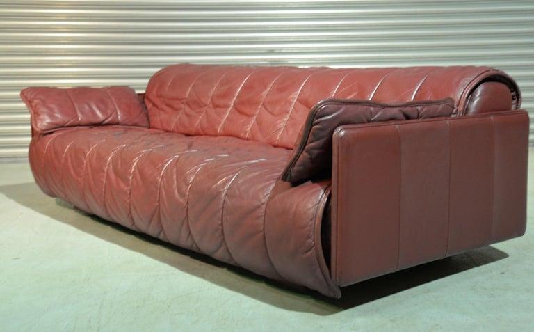 Vintage De Sede Patchwork Leather Sofa / Daybed, Switzerland 1970`s 3
