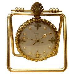Vintage Swiss Mantel Alarm Clock