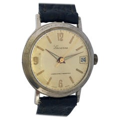 Vintage Swiss Mechanical with Sweep Seconds Watch