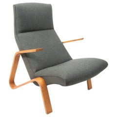 Vintage Swiss Production Grasshopper Chair by Eero Saarinen for Knoll, 1950s