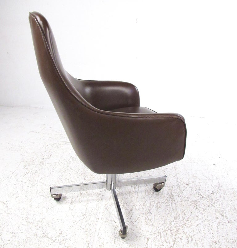 Astonishing Vintage Swivel Desk Chair By Jansko Ocoug Best Dining Table And Chair Ideas Images Ocougorg