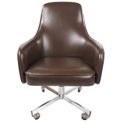 Vintage Swivel Desk Chair by Jansko