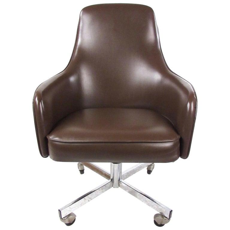 Enjoyable Vintage Swivel Desk Chair By Jansko Unemploymentrelief Wooden Chair Designs For Living Room Unemploymentrelieforg