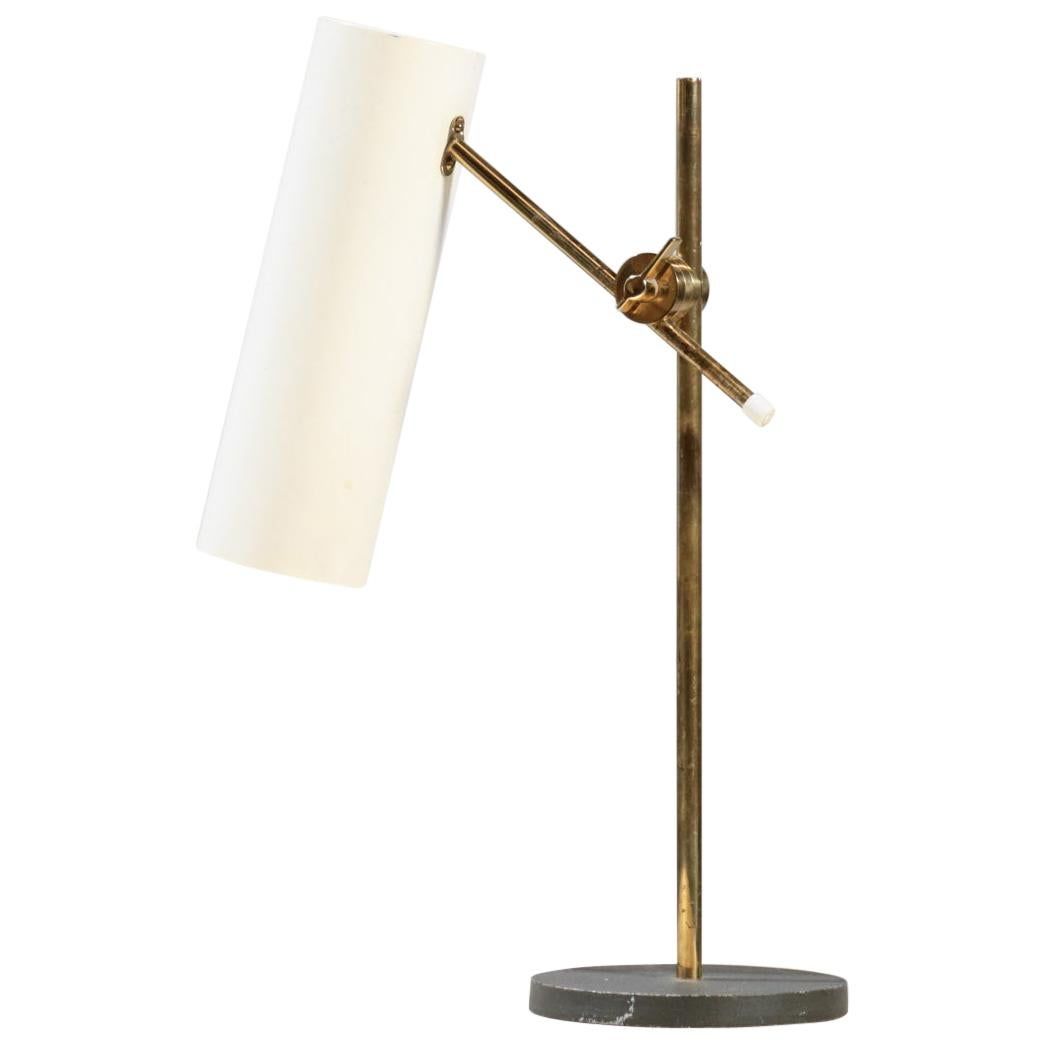 Vintage Table Lamp Off White, 1960s