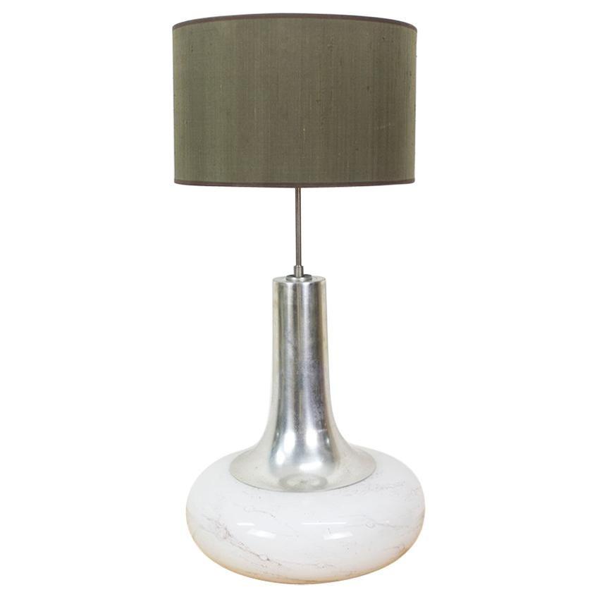 Vintage Table Lamp With Illuminated Base From Doria Leuchten
