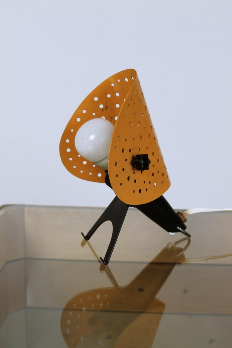Mid-Century Modern Vintage Table/ Wall Lamp by Ernest Igl for Hillebrand, 1950s, Germany For Sale
