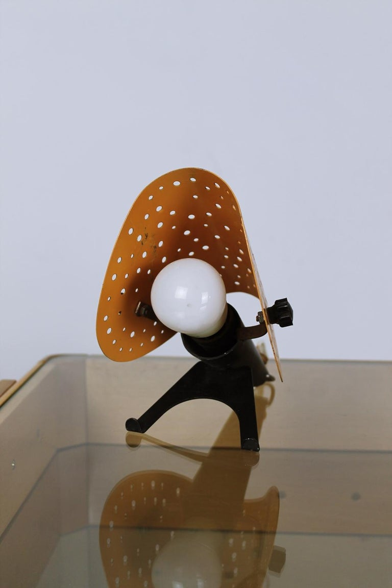 Mid-20th Century Vintage Table/ Wall Lamp by Ernest Igl for Hillebrand, 1950s, Germany For Sale
