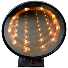 Vintage Tabletop Infinity Mirror