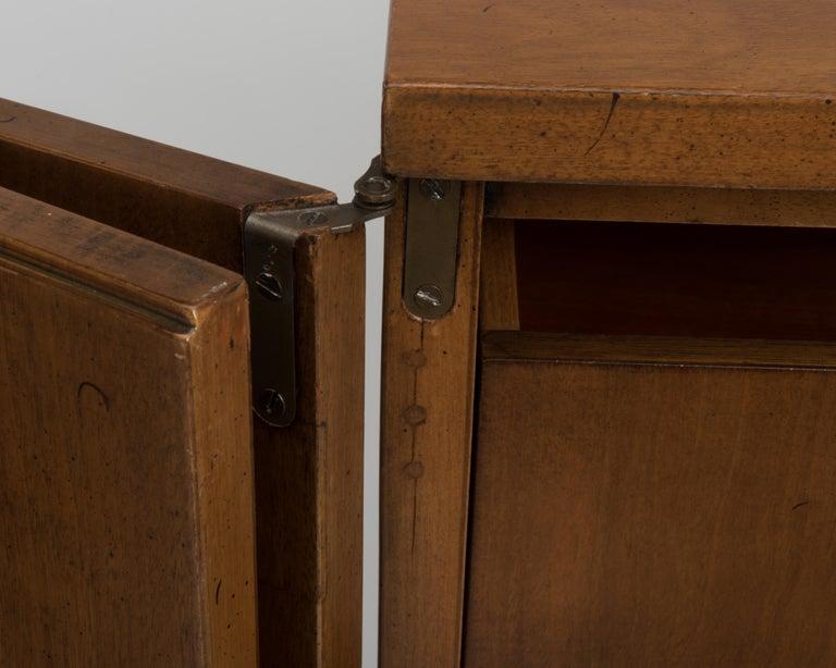 Vintage Tall Midcentury Men's Dresser Chest Johnson Furniture Paul Frankl For Sale 4
