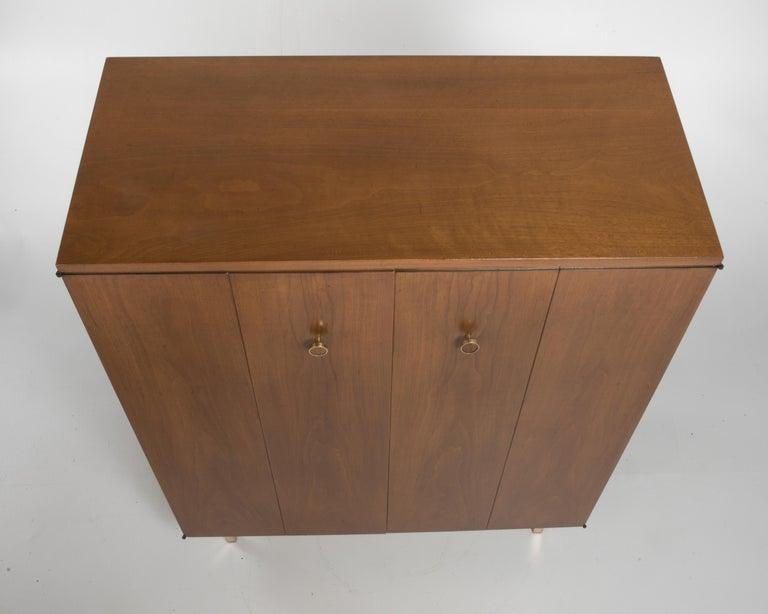 Vintage Tall Midcentury Men's Dresser Chest Johnson Furniture Paul Frankl For Sale 5