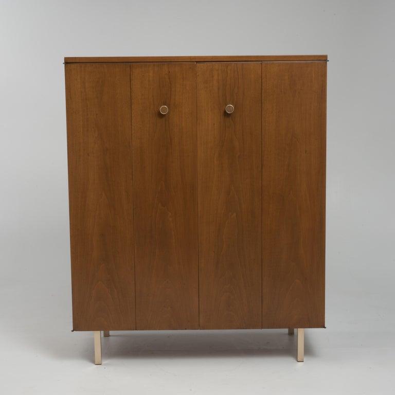 Vintage Tall Midcentury Men's Dresser Chest Johnson Furniture Paul Frankl For Sale 1