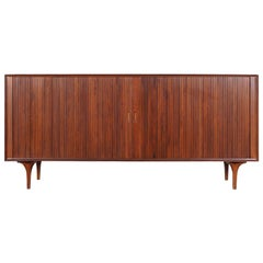 Vintage Tambour Door Credenza by Robert Baron for Glenn of California