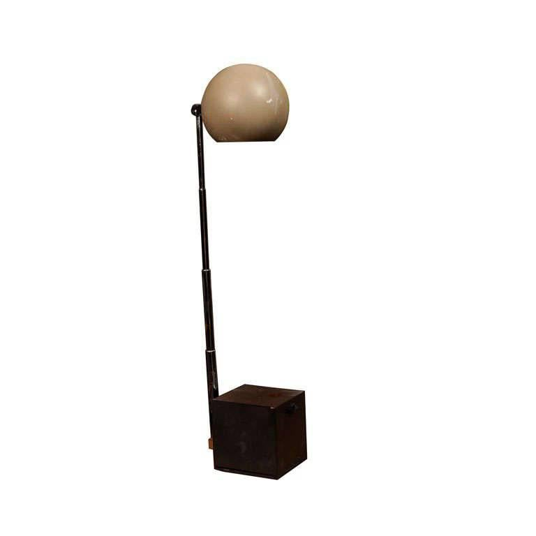 Vintage Tan Lytegem Task Lamp by Michael Lax by Lightolier For Sale