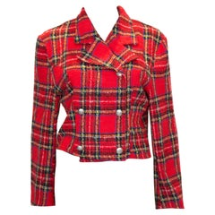 Vintage Tartan Boucle Jacket