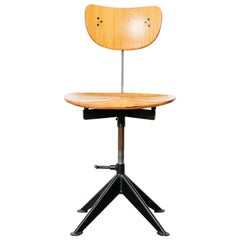 Vintage Task Stool in the manner of Jean Prouvé