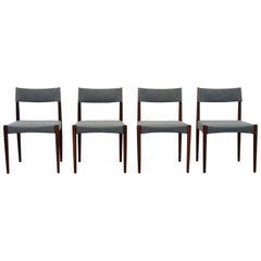 Vintage Teak Danish design Dining Room Chairs by Aksel Bender Madsen, 1960s