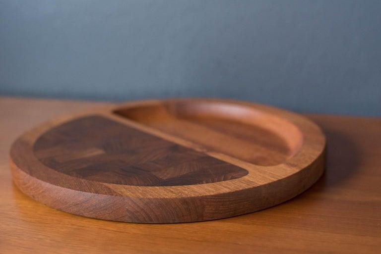 Vintage Teak Dansk Serving Tray Platter by Jens H. Quistgaard For Sale 1