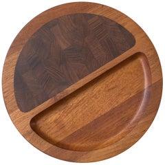 Vintage Teak Dansk Serving Tray Platter by Jens H. Quistgaard