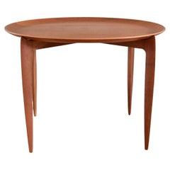 Vintage Teak Side Table by Svend Åge Willumsen and Hans Engholm Fritz Hansen
