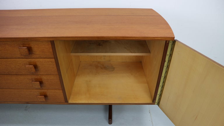 Vintage Teak Sideboard, 1960s For Sale 4