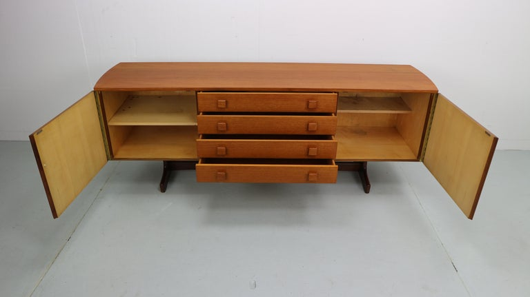 Scandinavian Modern Vintage Teak Sideboard, 1960s For Sale