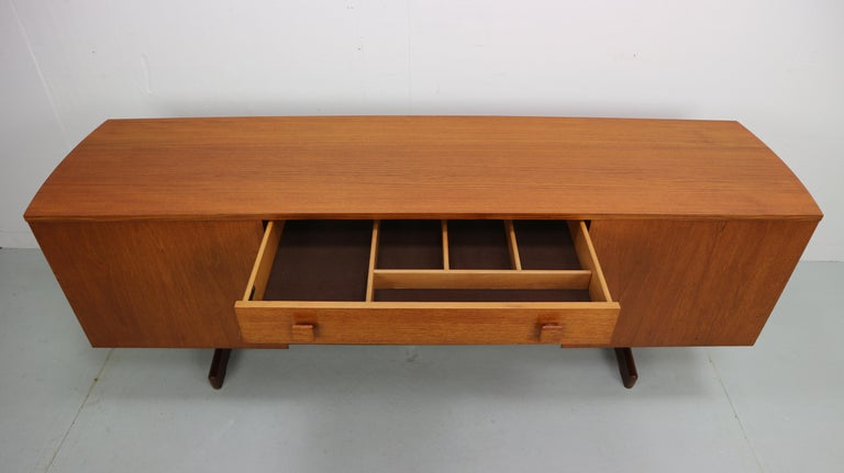 Mid-20th Century Vintage Teak Sideboard, 1960s For Sale