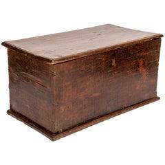 Vintage Teak Storage Chest from Java, Mid-20th Century