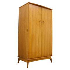 Vintage Teak Wardrobe by Alfred Cox for Heal's, 1960s