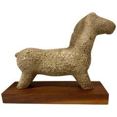 Vintage Terracotta Horse