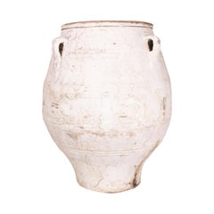 Vintage Terracotta Jar with Original Patina