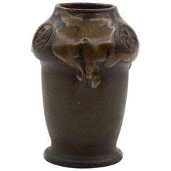 Vintage Terracotta Vase, Denmark, 1970s
