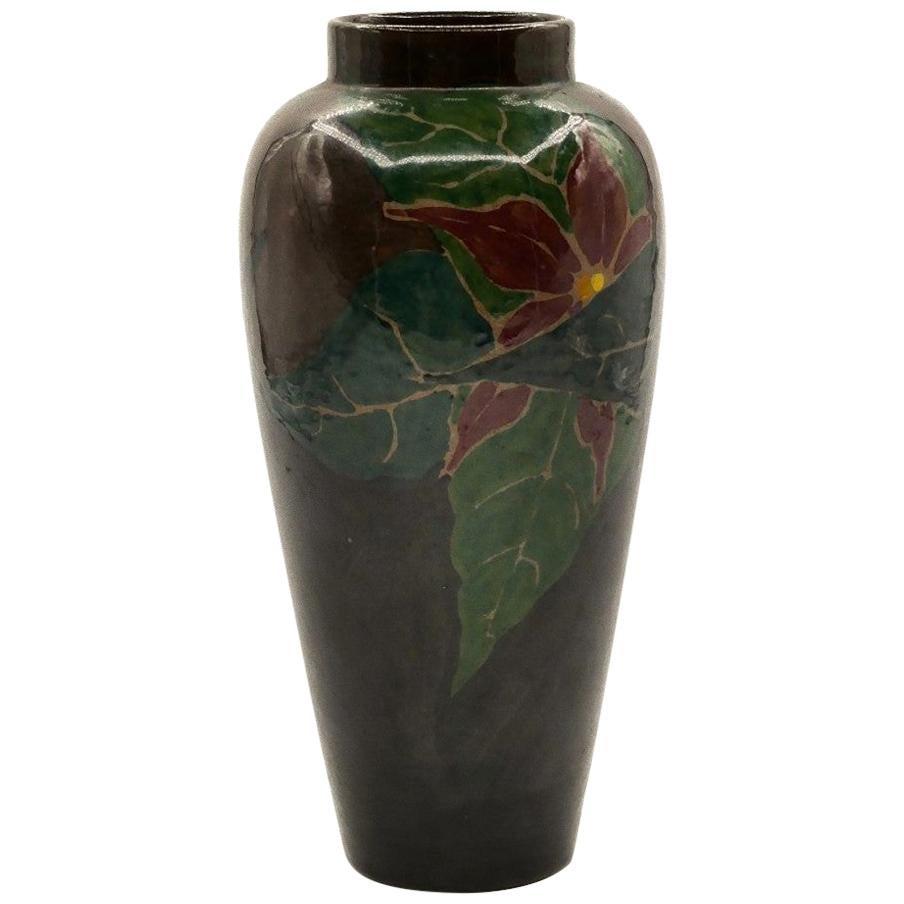 Vintage Terracotta Vase, Holland, 1930s