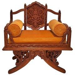 Vintage Thai Howdah Chair