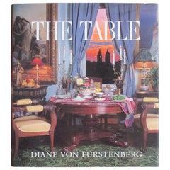 Vintage The Table Book by Diane Von Furstenberg
