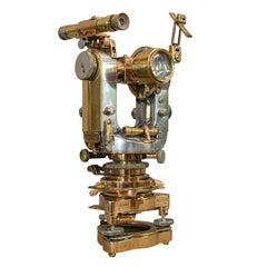 Vintage Theodolite, English, Scientific Instrument, Cooke Troughton & Simms
