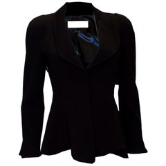 Vintage Thierry Mugler Black Jacket