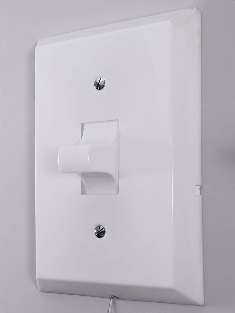 Vintage Think Big! Light Switch For Sale at 1stdibs