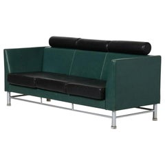 Vintage Three Seats Sofa by Ettore Sottsass for Knoll, Italy, 1980s