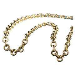 Vintage Tiffany and Co 18K Yellow Gold Link Chain