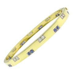 Vintage Tiffany & Co. 18k Gold Bangle Bracelet