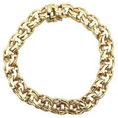 Vintage Tiffany & Co. Charm Bracelet 14 Karat Yellow Gold
