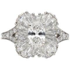 Vintage Tiffany & Co. Diamond Ballerina Ring, American, circa 1970